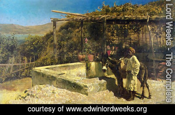 Edwin Lord Weeks - By The Well