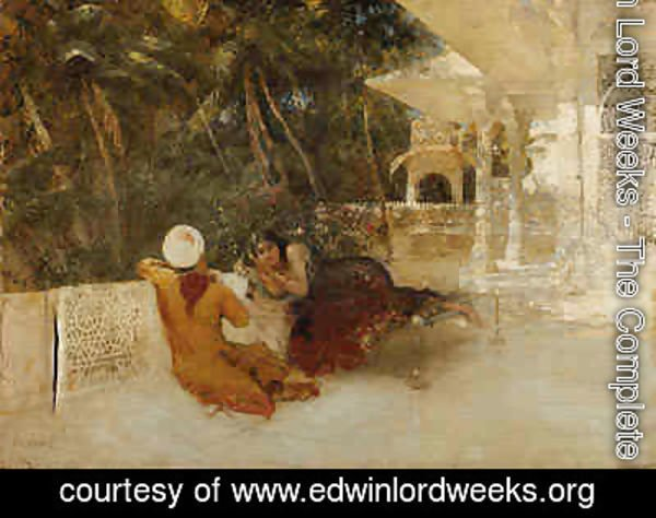 Edwin Lord Weeks - An Intimate Conversation