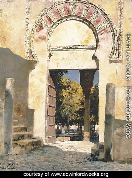 An Old Moorish Gateway - Cordova, Spain