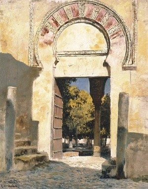 Edwin Lord Weeks - An Old Moorish Gateway - Cordova, Spain