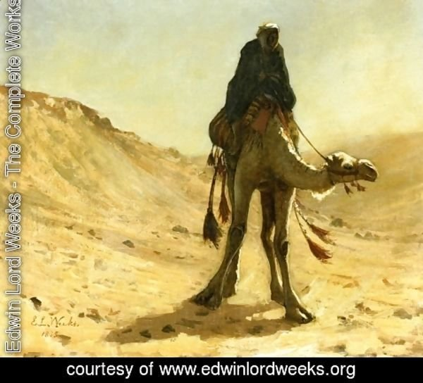 Edwin Lord Weeks - The camel rider