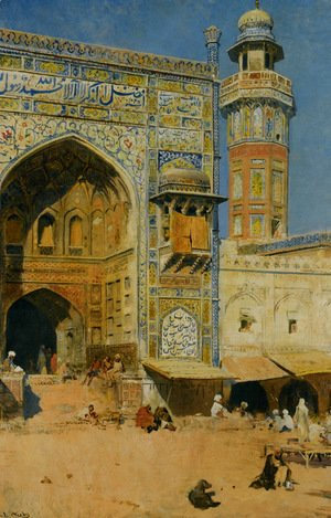 Edwin Lord Weeks - Jumma Musjed - Lahore, India