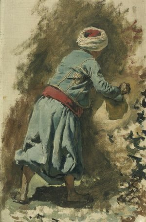 Study of a Moor in Blue