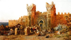 Edwin Lord Weeks - Gate Of Shehal  Morocco