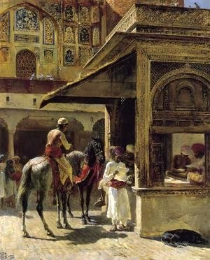Edwin Lord Weeks - Hindu Merchants