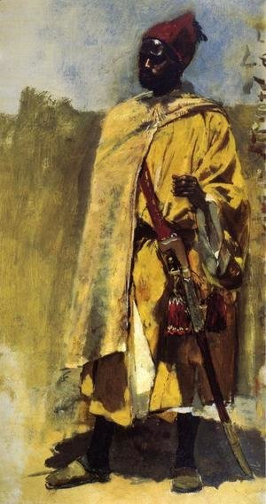 Edwin Lord Weeks - Moorish Guard