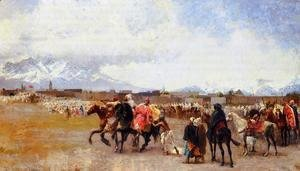 Powder Play   City Of Morocco  Outside The Walls