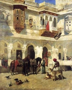 Edwin Lord Weeks - Rajah Starting On A Hunt