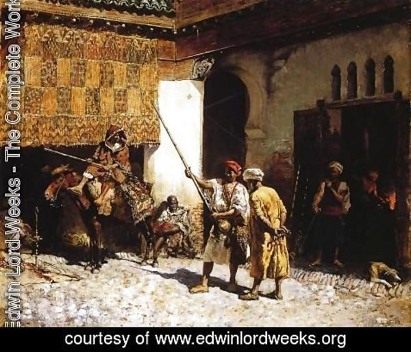 Edwin Lord Weeks - The Arab Gunsmith