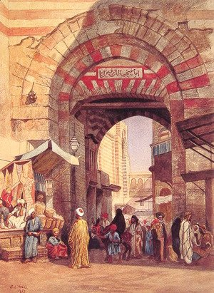 Edwin Lord Weeks - The Moorish Bazaar