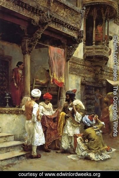 Edwin Lord Weeks - The Silk Merchants