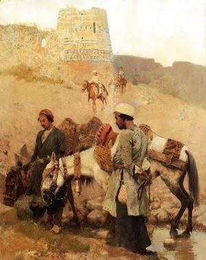 Edwin Lord Weeks - Traveling In Persia