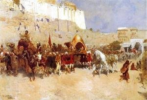Edwin Lord Weeks - Wedding Procession  Jodhpur