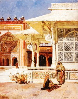 Edwin Lord Weeks - White Marble Tomb At Suittitor  Skiri